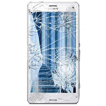 Sony Xperia Z3 Compact LCD & Touchscreen Reparatie Wit