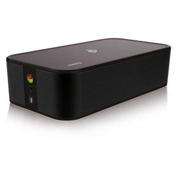 ZENS Qi Wireless Charging Speaker Zwart