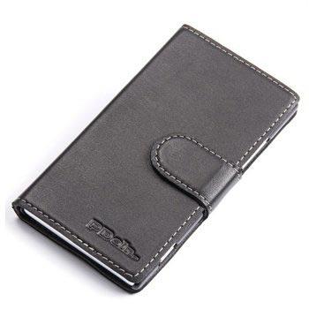 Nokia Lumia 925 PDair Leren Case 3BNKI5B41da Zwart
