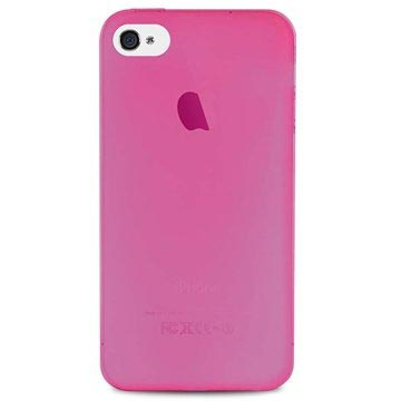 iPhone 4-4S Puro 0.3 Ultra Slim Siliconen Hoesje Roze