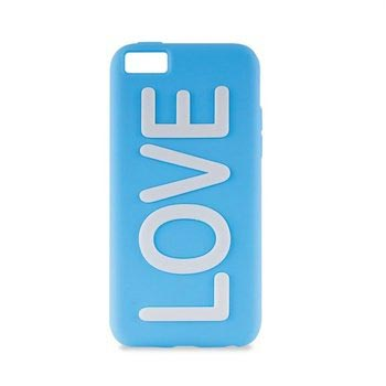 PURO Puro iPhone 5C Back Cover Night Glow Love Blue (IPCCLOVEBLUE)