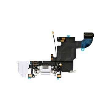 iPhone 6S Oplaad Connector Flexkabel Wit