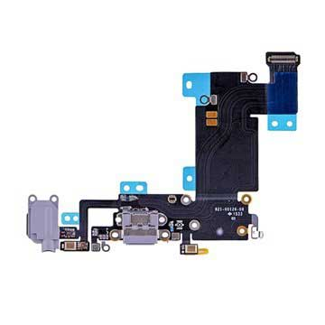 iPhone 6S Plus Oplaad Connector Flexkabel Donkergrijs