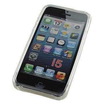 iPhone 5-5S-SE S-Curve TPU Hoesje Doorzichtig