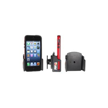 Brodit Passive Holder Apple iPhone 5-5S with Skin verstelbaar 62-77-6-10