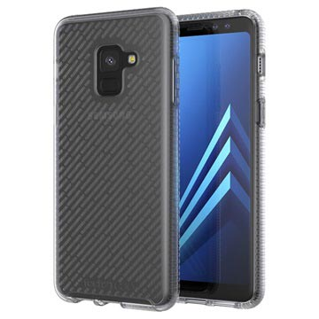 Samsung Galaxy A8 (2018) tech21 Evo Shell Beschermende Cover Doorzichtig