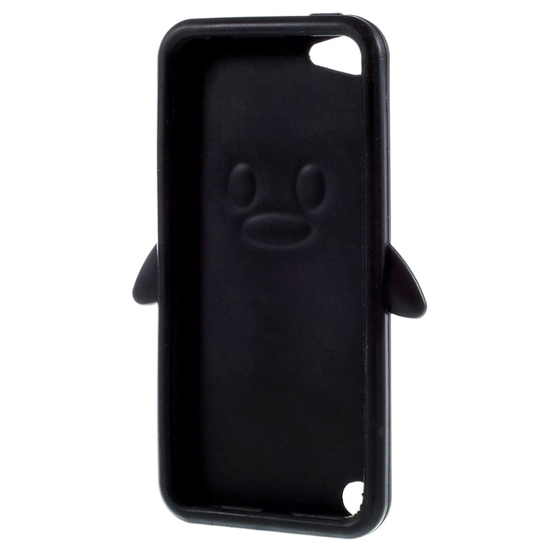 Pingouin Noir Étui En Silicone Pour La Touche Ipod 5g / 6 JyAQlZCDn