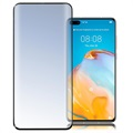 4smarts Second Glass Curved 3D Huawei P40 Screenprotector - Zwart
