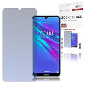 4smarts Second Glass Huawei Y6 (2019) Glazen Screenprotector - Doorzichtig