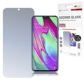 4smarts Second Glass Samsung Galaxy A40 Glazen Screenprotector - Doorzichtig