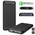 4smarts VoltHub Power Delivery & QC3.0 Powerbank - 10000mAh - Zwart