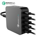 4smarts VoltPlug QC 3.0 Multiport Oplaadstation - Type-C & 4 USB - 40W