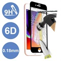 6D Full Cover iPhone 7 / iPhone 8 Glazen Screenprotector - 9H
