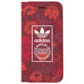 iPhone 7 / iPhone 8 Adidas Bohemian Flip Case - Rood