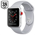 Apple Watch Series 3 LTE MQKF2ZD/A - Aluminium, Sportbandje, 38mm, 16GB - Mistgrijs/Zilver