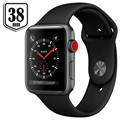 Apple Watch Series 3 LTE MQKG2ZD/A - Aluminium, Sportbandje, 38mm, 16GB - Zwart/Spacegrijs