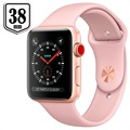 Apple Watch Series 3 LTE MQKH2ZD/A - Aluminium, Sportbandje, 38mm, 16GB - Roze/Goud
