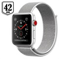 Apple Watch Series 3 LTE MQKQ2ZD/A - Aluminium, Sportbandje, 42mm, 16GB - Zilver/Seashell