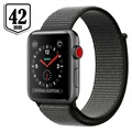 Apple Watch Series 3 LTE MQKR2ZD/A - Aluminium, Sportbandje, 42mm, 16GB - Spacegrijs/Donker Olijfgroen