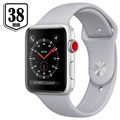 Apple Watch Series 3 MQKU2ZD/A - Aluminium, Sportbandje, 38mm, 8GB - Zilver/Mistgrijs