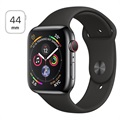 Apple Watch Series 4 LTE MTX22FD/A - Roestvrij Staal, Sportbandje, 44mm, 16GB