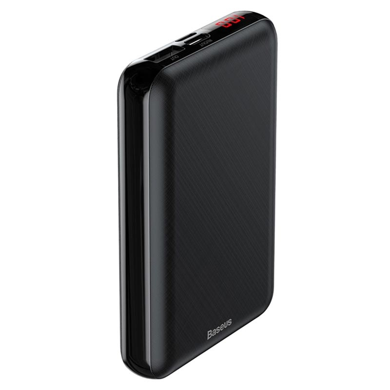 Baseus M25P Mini S Digital Powerbank - 10000mAh - Zwart