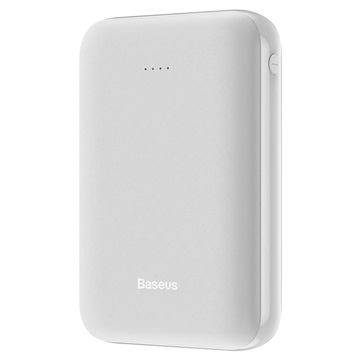 Baseus Mini Ja USB-C en 2xUSB Powerbank - 10000mAh - Wit