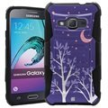 Samsung Galaxy J1 (2016) Beyond Cell Armor Combo Cover - Purple Night
