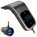 Bluetooth FM Transmitter & Dual Autolader BC39