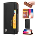 Card Set Serie iPhone XS Max Wallet Case - Zwart