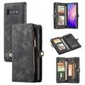 Caseme 2-in-1 Multifunctionele Samsung Galaxy S10 Wallet Case - Zwart