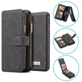 Caseme 2-in-1 Multifunctionele iPhone XS Max Wallet Case - Zwart