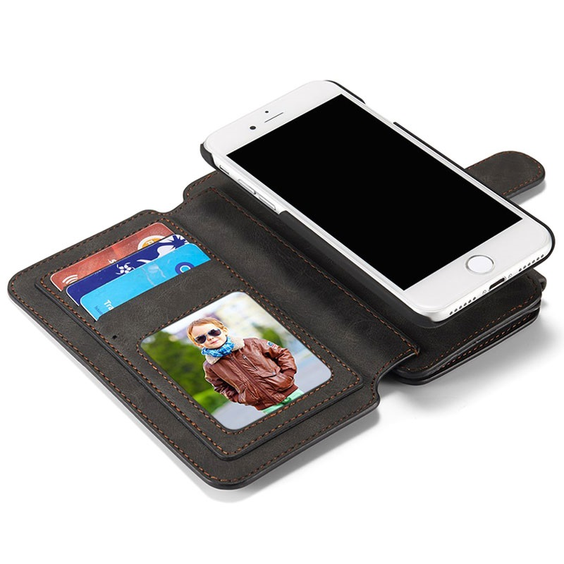iPhone 7 / iPhone 8 Caseme 2-in-1 Wallet Case