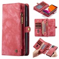 Caseme 2-in-1 Multifunctionele iPhone 11 Portemonnee Hoesje - Rood