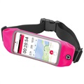 "Celly RunBelt View Universele Sport Riem - 5.5"" - Roze"