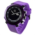 Cogito Classic Bluetooth Smartwatch - iOS, Android - Deep Purple