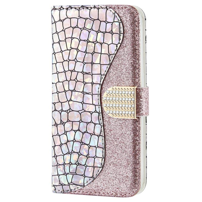 Croco Bling iPhone 11 Pro Wallet Case