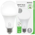 Deltaco SH-LE27W WiFi Smart LED Lamp - 9W - Wit