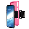 iPhone X Onzichtbare Siliconen Armband - Hot Pink