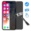 Devia 3D Full Glass Privacy iPhone XS Max Screenprotector - 9H, 0.26mm - Zwart