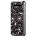 Diamond Series Samsung Galaxy S10 Hybrid Hoesje
