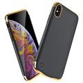 Electroplated iPhone XS Max Batterij Hoesje
