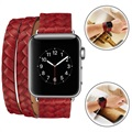 Apple Watch Series 1/2/3 Elegant Geweven Bandje - 42mm
