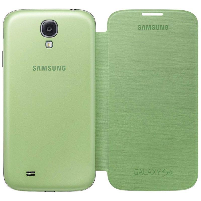 Couverture Flip Vert Pour Les I9500 Samsung Galaxy RSA9dIFP