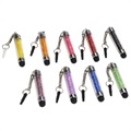 Glitter Mini Capacitieve Stylus Pen met 3.5mm Plug - 9 St.