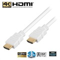 High Speed HDMI / HDMI Kabel - Wit