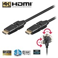 Goobay High Speed HDMI Kabel met Ethernet - Draaibaar