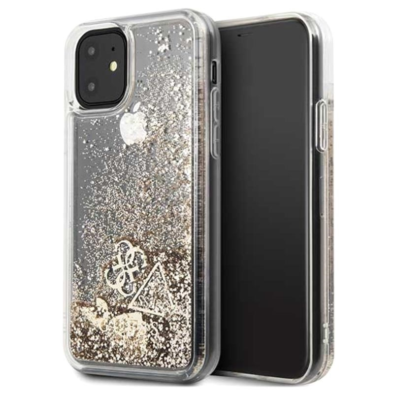 Guess Glitter Collection iPhone 11 Cover