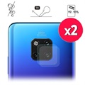 Hat Prince Huawei Mate 20 Pro Camera Lens Glazen Protector - 2 St.