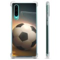 Huawei P30 Hybride Case - Voetbal